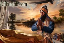 Gurgaddi Siri Guru Granth Sahib / Renowned Sikh painter Kanwar Singh (artofpunjab.com) has been creating exceptional paintings exclusively devoted to the Sikh religion and history for over ten years. His work is continually exhibited world-wide in prominent heritage sites such as the Virasat-e-Khalsa museum at Anandpur Sahib. Visit the artist's online gallery to see his sought after paintings and select affordable fine art prints for your own home or to be presented as a unique gift.