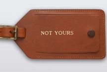 leather case label