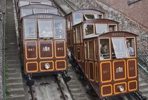 FUNICULARS / Headed up a hill?  Take a funicular when you can!