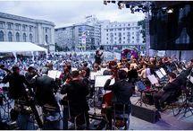 Orchestra Naţională Radio aplaudată la Bucharest Music Film Festival / foto: Alexandru Dolea şi Virgil Oprina