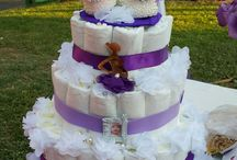 baby shower purple