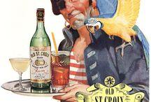 vintage rum bartender