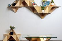 Origami style / All kind of interior design furniture with origami style for your home decoration. And of course... Some awesome origami paper craft!