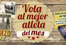 Atletas del mes / Votaciones a los mejores atletas españoles del mes