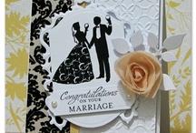 Tarjetas de matrimonio.