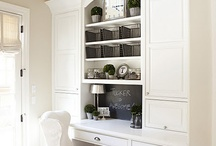 Home Decor: Office Area / A good environment makes it easier to get work done.