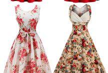 Платья винтаж