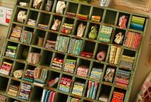 Crafty Stations / Thank you to all the organized and creative people in the world who have made these special rooms and spaces to complete craft/work projects. A special thanks for taking photographs of the finished rooms to share ideas with all of us. It has inspired me to create my own special space to bring out my inner crafting abilities. Cheers to crafting:) / by My Pinteresting Life