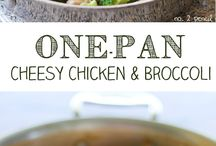 One pan recipes...