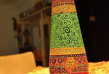 Madhukari bottle art