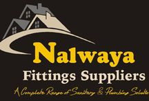 Bathroom fittings in Udaipur / Nalwaya Fittings Suppliers are Dealer and Suppliers of best Bathroom Fittings Equipment in Udaipur . We also provide sanitary ware and PVC pipe at exclusive price.