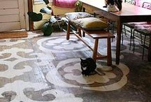 Floor/Rugs / by Mock Griffin