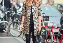 Leopard Coat / Looks con abrigo de leopardo