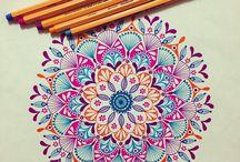 Felnőtt színezés / mandalák színezése