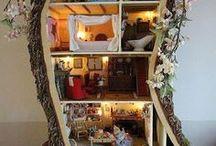 Casa delle bambole e miniature