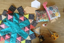 Quilt-English paper piecing