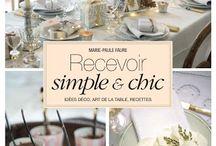 Mon livre/my book / http://www.amazon.fr/Recevoir-Simple-Faure-Marie-Paule/dp/2848318589