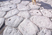 Floors at Pompeii and Herculaneum