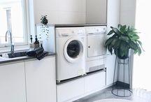 Interiør • Vaskerom