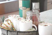 Hot chocolate bar / by Teresa Ames