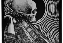 Godmachine / Collection of exclusive Godmachine screen prints from our 2014 solo exhibition & book launch