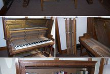 piano repurposing / by Janelle Trachsel