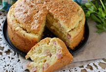 torta salata prosciutto cotto a dadini e parmigiano