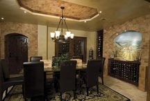 Dining Room Wine Displays / by Wine Cellar Innovations