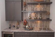 деревянные фартуки для кухни