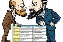 Durkheim & Weber
