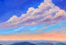 Art : Clouds & Skies (Oil Painting Reference) / ibid.