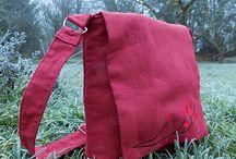 Moje výrobky / Kabelky, tašky, peněženky s nažehlovanou autorskou grafikou