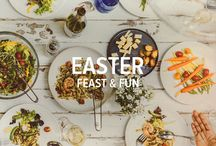 Easter Feast and Fun / This holiday celebration can include anything from a full-blown, family feast to a more casual brunch for just a few. And, with our help, it can also include everything from chocolate martinis to how to chill your white wine fast.