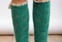 Socks legwarmers