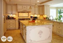 Fabuwood Classic Wellington Ivory Cabinets by Filipe Custom Woodwork. Inc. / Check out the amazing builds of Fabuwood kitchens built by Filipe Custom Woodwork., Inc. located at 1600 East Edgar Rd. Linden, NJ 07036 19082 (908) 486-0033  http://www.filipecw.com/  http://fabuwood.com/