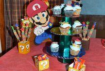 Cumpleaños Mario Bros / cumpleaños 1 añito