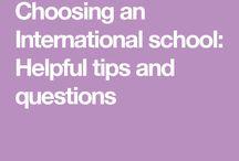 Choosing an International school