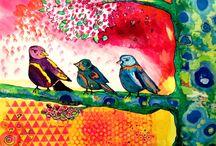 Mixed Media / Mixed media art, mixed-media, art journaling ideas, mixed-media journaling, bible journaling, art journaling, art journal