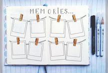 bullet journal memories