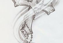 female cross tattoos