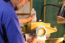 Wood Turning / These are some photos of work being created in the wood turning workshops offered at Arrowmont School of Arts and Crafts!