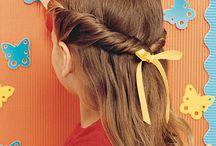 Girls hair / by Kim Walker Taylor