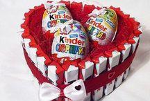 Süßigkeiten basteln