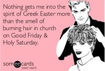 Greek......