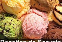 6 receitas de sorvete