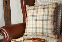 Pins & Ribbons -Sofa Cushions