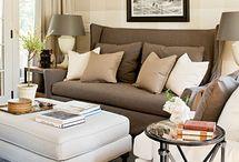 Decor I adore:  Family Room / by Andrea Cammarata