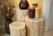 Móveis de madeira