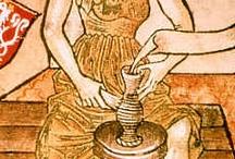 średniowieczne rzemiosła