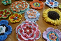 Crochet : fleurs
